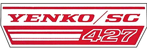 - YENKO / SC 427 CHEVROLET CAMARO, CHEVELLE & NOVA FAN SHROUD DECAL