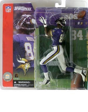 McFarlane Football Series 1: Randy Moss with Purple ()