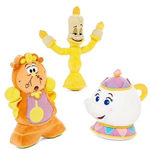 Beast Plush - Disney Beauty and the Beast Plushes - Cogs, Potts, and Lumiere