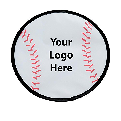 Baseball Flexible Flyer - 150 Quantity - $1.70 Each - PROMOTIONAL PRODUCT / BULK / BRANDED with YOUR LOGO / CUSTOMIZED by Sunrise Identity