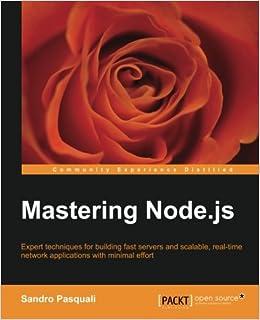 Book Mastering Node.js (Community Experience Distilled)