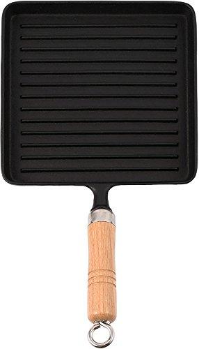 도자기 그릇 그릴 팬 나무 무늬가있는 검은 IC-028