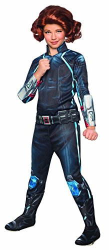 [Rubie's Costume Avengers 2 Age of Ultron Child's Deluxe Black Widow Costume, Large] (Child Avengers 2 Deluxe Ultron Costumes)