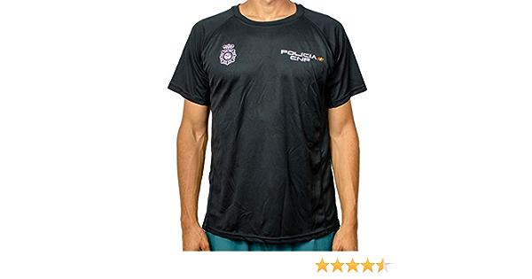 Alpimara Camiseta Policía Nacional Técnica Niño (Negra, 16): Amazon.es: Ropa y accesorios