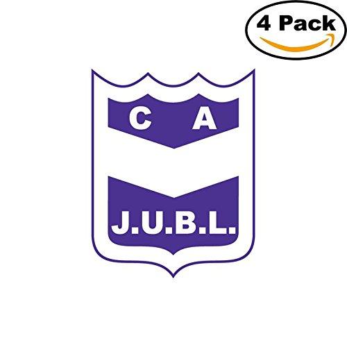 fan products of Club Atletico Juventud Unida Benito Legeren de Concordia Argentina Soccer Football Club FC 4 Stickers Car Bumper Window Sticker Decal 4X4