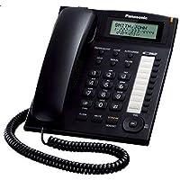 هاتف سلكي متكامل من باناسونيك KX-TS880، أسود
