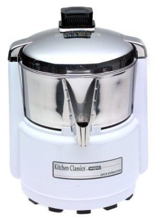 Waring Juice Extractor, White and Stainless Steel, MN#11JE38 For Sale