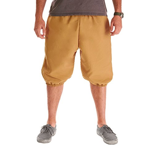 Largemouth Men's Knickers Pants (XX-Large, Khaki) -