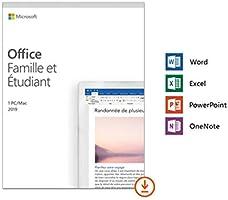 20% off - Microsoft office Famille et Etudiant 2019 | Téléchargement