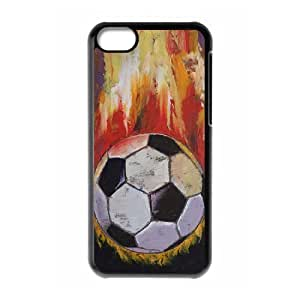 Chinese Soccer Custom Phone Case for iPhone 5C,personalized Chinese Soccer Case