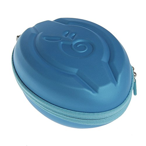 Hard EVA Protective Case Carrying Pouch Cover Bag Blue for LilGadgets Connect+ Premium Volume Limited Wired Headphones Children by Hermitshell