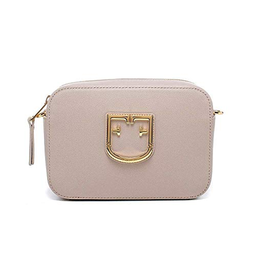 Furla Women's Furla Brava Mini Crossbody, Dalia, Off White, Graphic, One Size