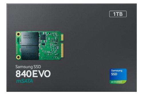 Samsung 840 EVO MZ-MTE1T0BW 1TB mSATA Internal SSD Single Unit Version