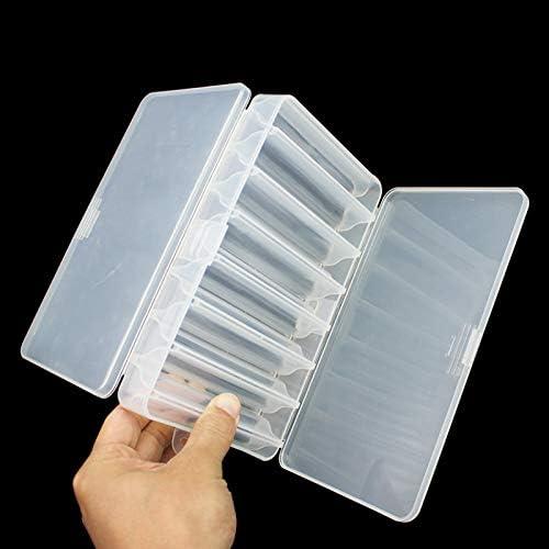 OriGlam Bo/îte /à leurres de p/êche avec compartiments double face 14 compartiments /étanche pour leurres de p/êche