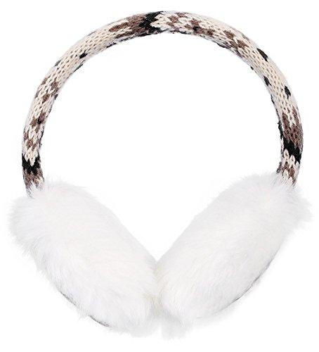 Simplicity Womens Winter Knitted Earmuffs