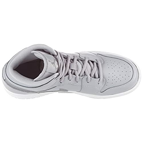 buy popular 9f9a4 fc3bc Nike Air Jordan 1 Mid BG- Chaussures de Basketball Garçon, Gris (Wolf Grey