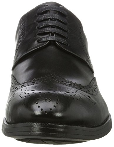 Scarpa Tessitore Derby Full Brogue Derbys Nero (nero)
