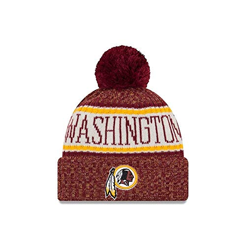 New Era Washington Redskins NFL 2018 On Field Sport Knit - Washington Redskins Nfl Team