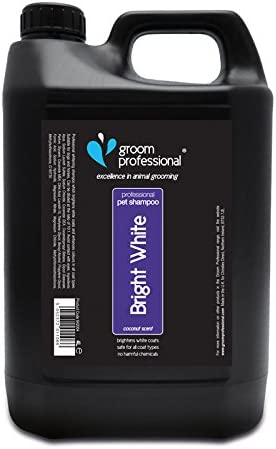 Groom Professional Bright White Shampoo 4 Litre