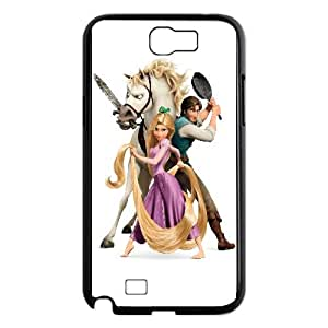Tangled Cartoon Samsung Galaxy N2 7100 Cell Phone Case Black gift pp001_6470046