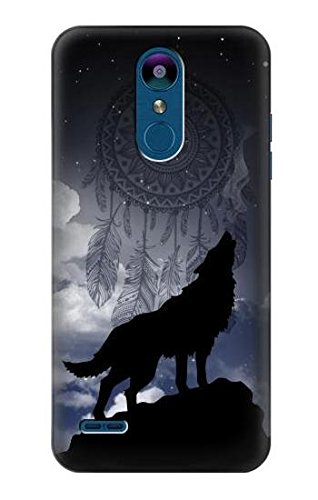 outlet store 7aa22 9bc3e R3011 Dream Catcher Wolf Howling Case Cover for LG K8 (2018), LG Aristo 2,  LG Tribute Dynasty, LG Zone 4, LG Fortune 2, LG K8+