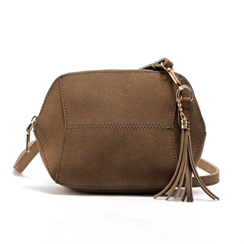 Coffee Travel Shoulder Bag Messenger Handbag tassel Shoulder Tote Bag Hobo TUDUZ Leather Fashion Handbag Satchel Bags Women Crossbody Casual Bags Bags RqqSwdU