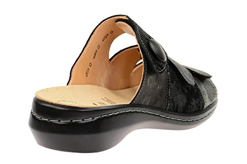 Pantolette Lukket Camilla Women's At Black Kvinners Kombi Kombi Closed Pantolette Svart Schwarz Think Synes Camilla Schwarz RPpxwR6q