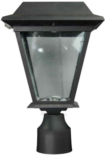 Led 3 Light Outdoor Post Lantern - 8