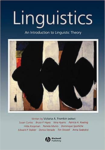 An Introduction to Linguistic Theory Linguistics