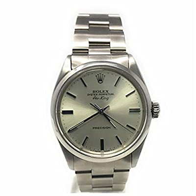 Rolex Air-King Swiss-Automatic Male Watch 5500 (Certified Pre-Owned) by Rolex
