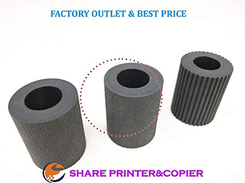(Printer Parts Paper Pickup Feed Separation Roller Tire Rubber 2Ar07220 2Ar07230 2Ar07240 for Kyocera Km1620 1650 2020 2050 3035 3040 4030 5035 )