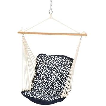 Hatteras Hammocks Sunbrella Tufted Single Swing – Luxe Indigo