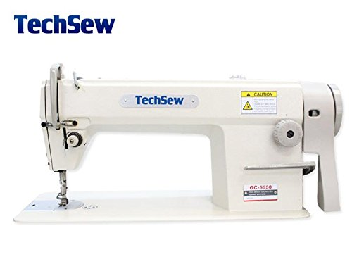TechSew 5550 Highspeed Lockstitch Industrial Sewing Machine with Assembled Table & Servo Motor
