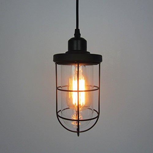 WYMBS Creative furniture decoration pendant light Iron bullet glass chandelier