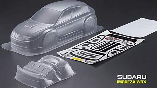 Part & Accessories PC OnRoad Race Touring flat RC Drift EP Nitro SSubaruu rally car 200MM 1/10 Scale For HPI KYOSHO Redcat FS - (Color: PC BODY 190mm) (Nitro Touring Car)