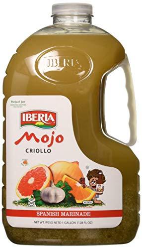Iberia Mojo Criollo, 128 Fl. Oz, 1 gallon Spanish Marinade Perfect for Marinating Chicken, Beef & Pork, Made With Real Orange Juice (Mexican Marinade)