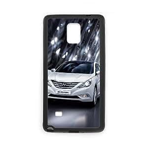 Hyundai Samsung Galaxy Note 4 Cell Phone Case Black Elluq