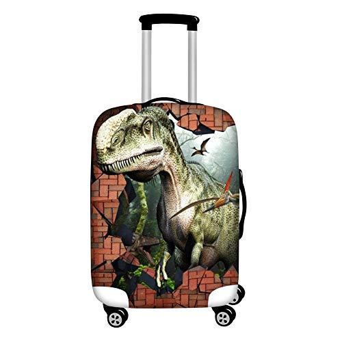 14b4c2b26c8f Instantarts Animal Dinosaur Travel Luggage Suitcase Protector Case  Tyrannosaurus Rex Baggage Cover S
