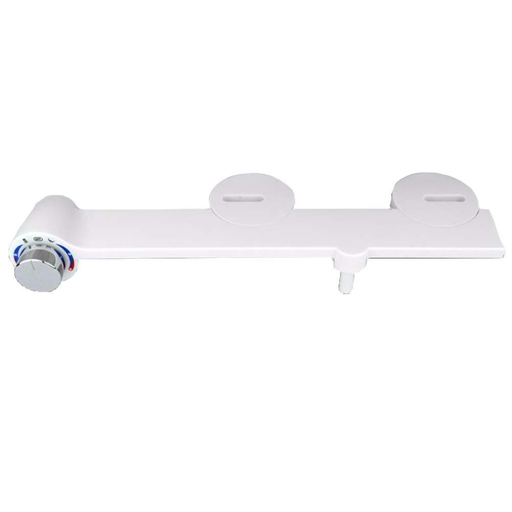 OOFAYWFD Bidet, WC Bidet Nicht-elektrische Selbstreinigungs-einzelne Düse Heißes und kaltes Wasser-mechanischer Bidet-Toilettensitz-Zusatz