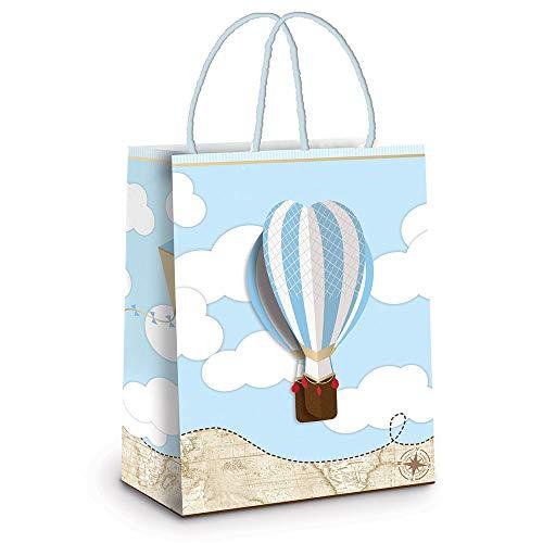 Hot Air Balloon Gift/Treat Bags - 10 Pack 8