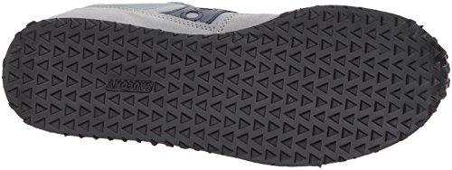 Originaux Saucony Mens Dxn Formateur Cl Sneaker Essentielle Gris Marine