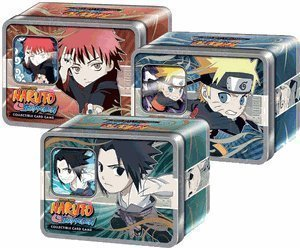 (Naruto Ultimate Battle Chibi Tin Set of 3 - Sasuke, Naruto, Gaara [Toy])