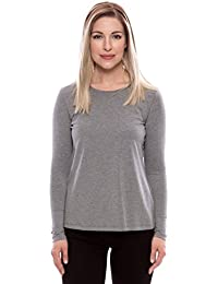 Women's Long Sleeve T- Shirt - Comfortable Casual Wear by Texere (Bellatee)