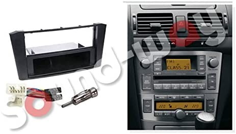 Kit de Montaje Marco Adaptador autoradio 1 DIN Toyota Avensis T25