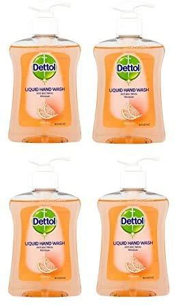 Dettol Moisture Handwash Grapefruit 250ml Pack of 4