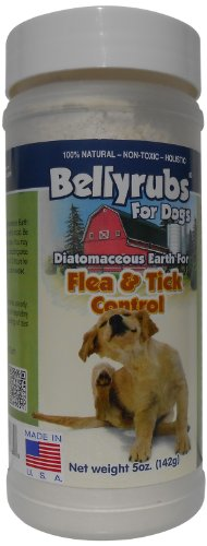 BellyRubs Organic 5-Ounce Diatomaceous Earth Shaker Bottle
