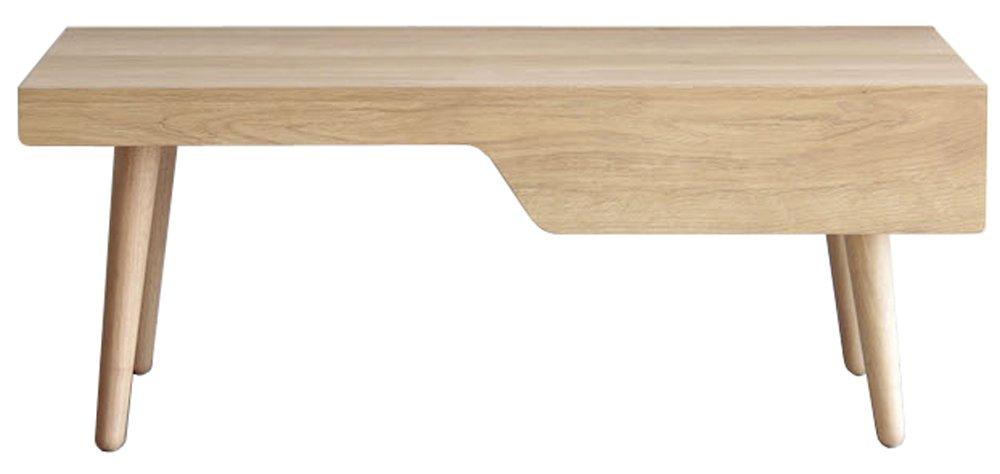 大川家具 東馬 リビングテーブル レモア 幅100cm B01N6IPVH6リビングテーブル