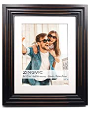 ZingVic 8x10-inch Wide Wood Picture Frame Molding -Table Desk Top or Wall Hanging