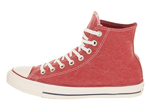 White Taylor Unisex Basketball Red Red Converse Hi Enamel Chuck Shoe All Star Enamel wEd7qF