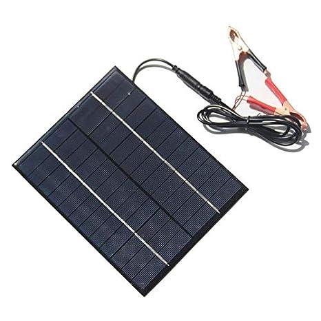 Silverkial Mini Portátil 5.2 W 12 V Panel Solar Banco de ...